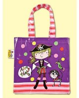 Girl Pirate Tote Bag